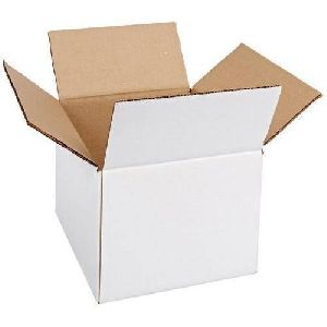 3 Ply White Corrugated Box