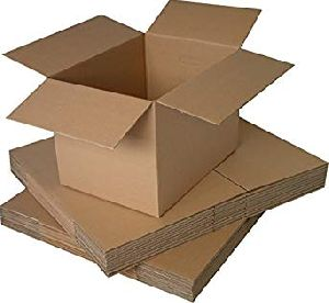 Plain Corrugated Box