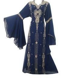 Embroidered Farasha Dress