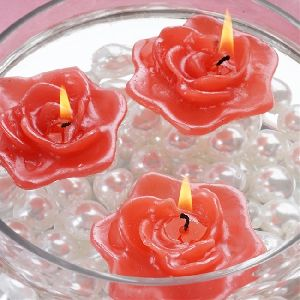 Rose Candle