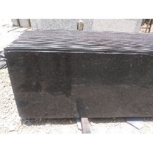 Crystal Black Granite Slab