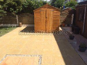 Lalitpur Yellow Sandstone Paving