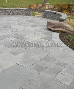 Slate Grey Sandstone Paving