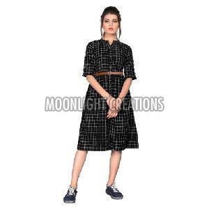 Ladies Cotton One Piece Dress