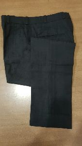Mens Black Formal Trouser