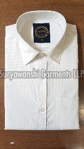 Mens White Cotton Shirt