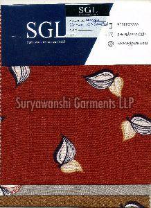 Wrangler Discharge Cotton Print Fabric