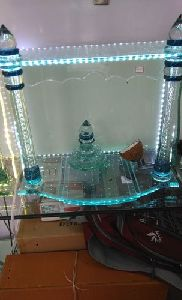 Decorative Glass Temple