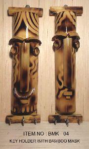 Bamboo Handicraft Key Holder