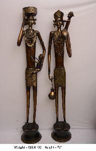 Brass Human Statue