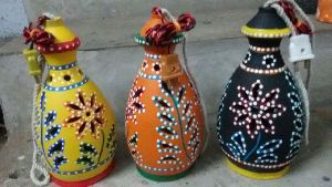Terracotta Handcrafted Hanging Lamps