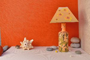 Terracotta Handcrafted Table Lamps