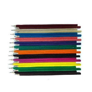 Multicolor Velvet Pencil