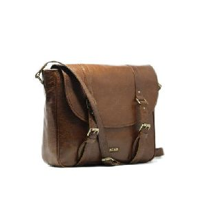 Leather Laptop Side Bag
