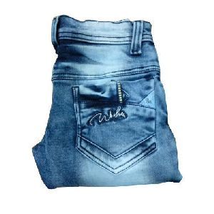 Kids Faded Denim Jeans