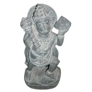 2 Feet Granite Hanuman Statue