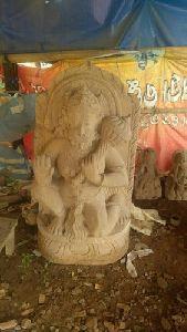 3 Feet Sandstone Hanuman Statue