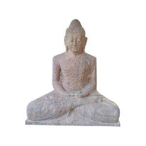 4 Feet Marble Buddha Statue
