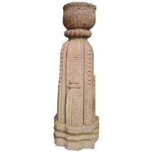 Sandstone Chaura Statue