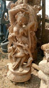 Sandstone Garden Statue