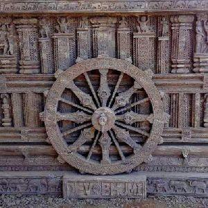 Sandstone Konark Wheel