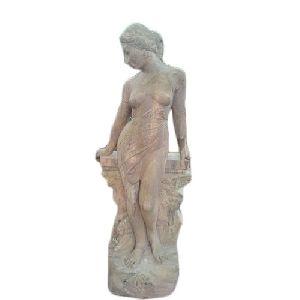 Sandstone Model Statue