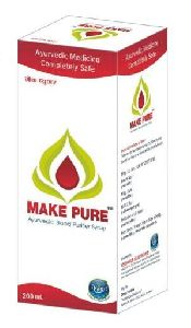 Make Pure Blood Purifier Syrup