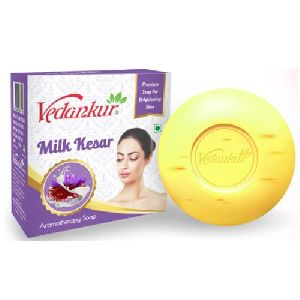 Milk Kesar Bath Soap