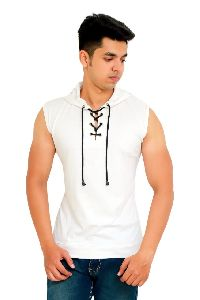Mens Sleeveless Hoodies