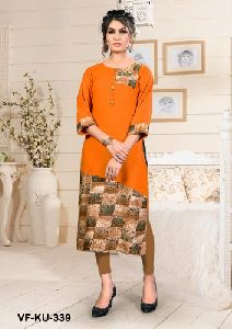 Regular Wear Rayon Kurti