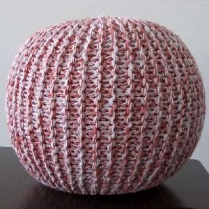Handmade Cotton Pouf India