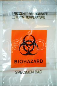 Biohazard Specimen Bag