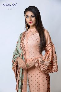 designer semi stitched salwar suits