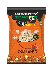 Naughty Tongue Chilly Tomato Flavored Popcorn
