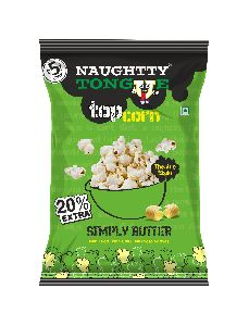 Naughty Tongue Simply Butter Flavored Popcorn