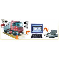 Semi Electronic Weighbridge
