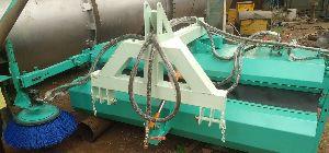 Tractor attach Road Broomer