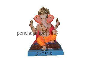 Clay Ganesh Statue 25