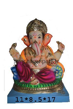 Clay Ganesh Statue 28
