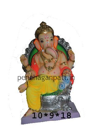 Clay Ganesh Statue 30