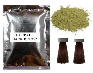 Dark Brown Natural Hair Color