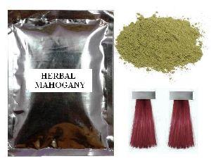 Mahogany Natural Hair Color