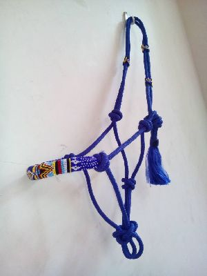 Hand Embroidered Horse Elite Class Rope Halter