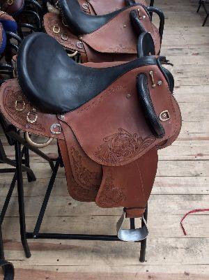 Half Breed Leather Saddle