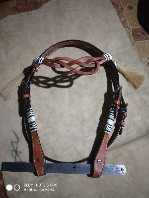 Western Headstall with Knott