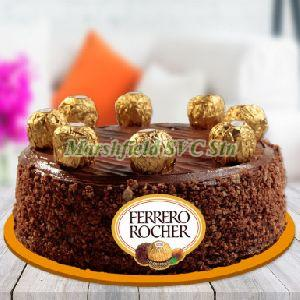 Ferrero Rochers Chocolate Cake