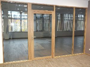 Acoustic Toughened Glass Partition