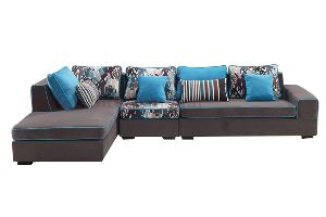 LSFS-018 L Shape Fabric Sofa
