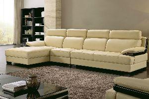 LSLS-002 L Shape Leatherite Sofa
