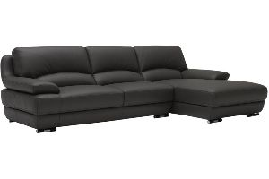 LSLS-007 L Shape Leatherite Sofa